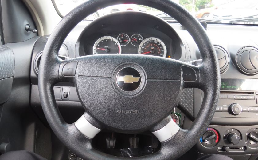 2011 Chevrolet Aveo LS MAN ABS HATCBACK #11