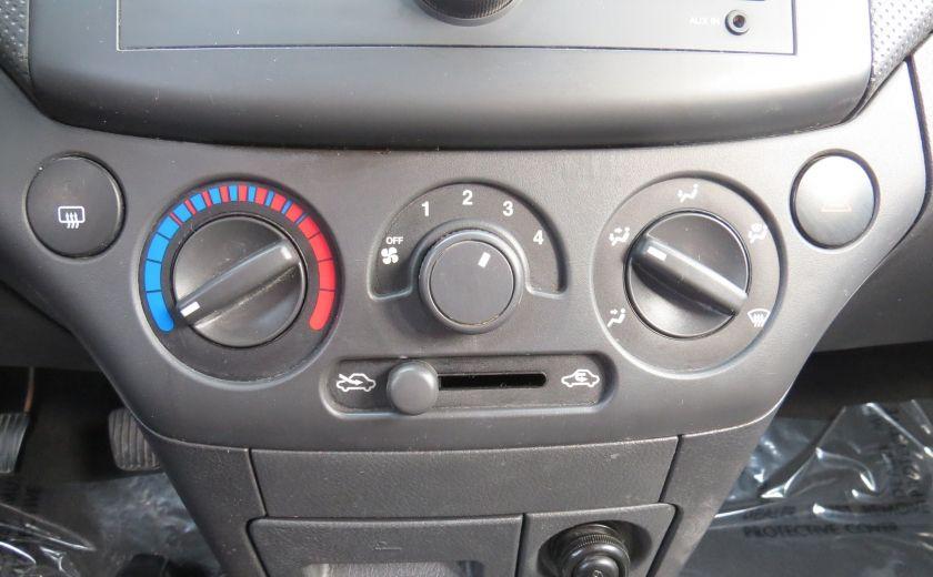 2011 Chevrolet Aveo LS MAN ABS HATCBACK #14