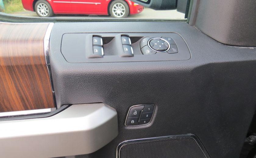 2015 Ford F150 Lariat FX4 AUT 4X4 V6 ECOBOOST CUIR CAMERA GR ELEC #9