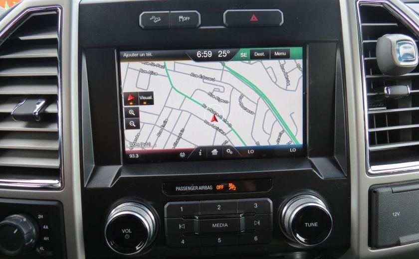 2015 Ford F150 Lariat FX4 AUT 4X4 V6 ECOBOOST CUIR CAMERA GR ELEC #18
