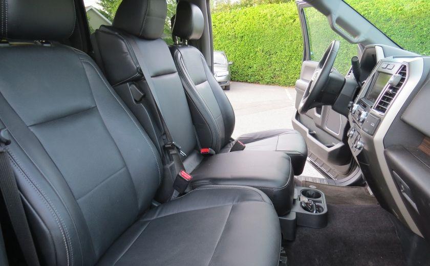 2015 Ford F150 Lariat FX4 AUT 4X4 V6 ECOBOOST CUIR CAMERA GR ELEC #25