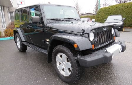 2010 Jeep Wrangler Sahara UNLIMITED AUT 4X4  2 TOIT A/C GR ELECTRIQUE à New Richmond