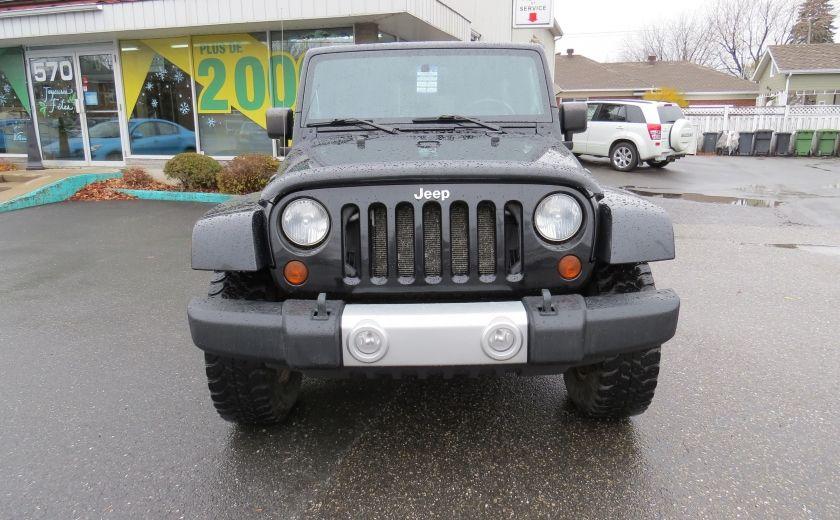 2010 Jeep Wrangler Sahara UNLIMITED AUT 4X4  2 TOIT A/C GR ELECTRIQUE #1