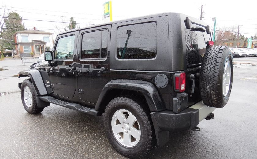 2010 Jeep Wrangler Sahara UNLIMITED AUT 4X4   A/C GR ELECTRIQUE #4