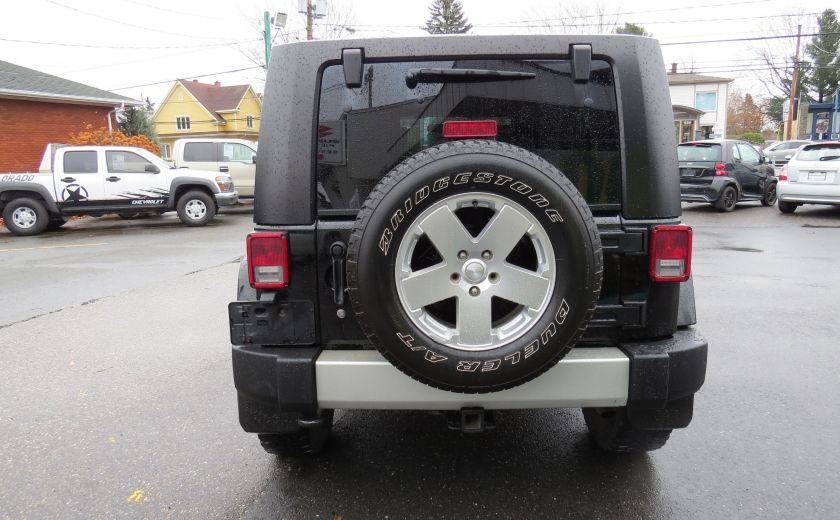 2010 Jeep Wrangler Sahara UNLIMITED AUT 4X4  2 TOIT A/C GR ELECTRIQUE #5