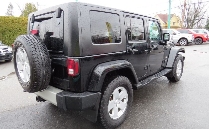 2010 Jeep Wrangler Sahara UNLIMITED AUT 4X4   A/C GR ELECTRIQUE #6