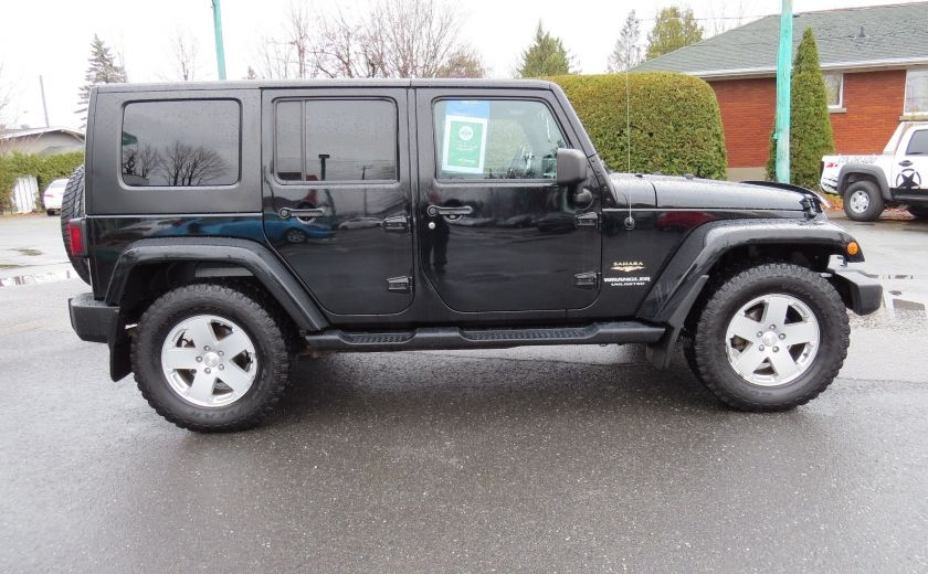 2010 Jeep Wrangler Sahara UNLIMITED AUT 4X4   A/C GR ELECTRIQUE #7