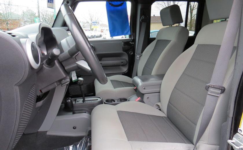 2010 Jeep Wrangler Sahara UNLIMITED AUT 4X4  2 TOIT A/C GR ELECTRIQUE #13