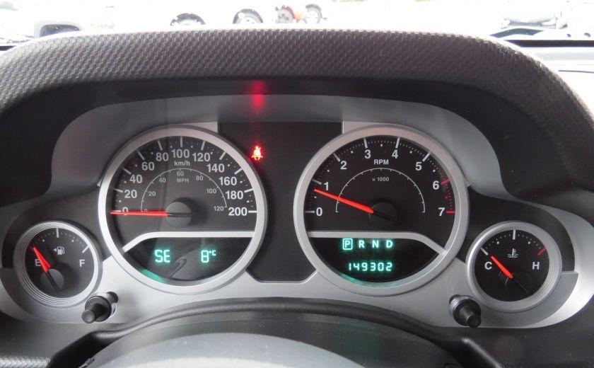 2010 Jeep Wrangler Sahara UNLIMITED AUT 4X4  2 TOIT A/C GR ELECTRIQUE #15