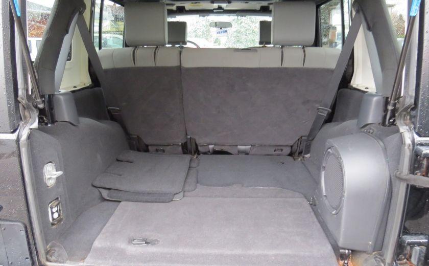 2010 Jeep Wrangler Sahara UNLIMITED AUT 4X4  2 TOIT A/C GR ELECTRIQUE #20