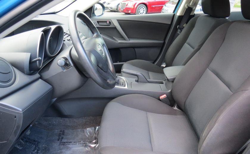 2010 Mazda 3 GX MAN A/C GR ELECTRIQUE ET PLUS #8