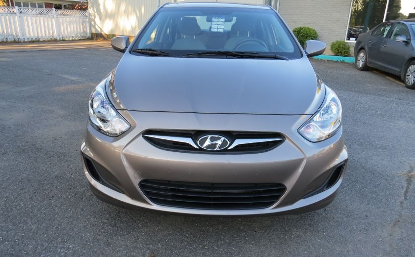 2013 Hyundai Accent L MAN ABS 4 PORTES 1.6 L #1