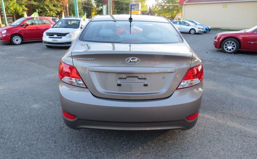 2013 Hyundai Accent L MAN ABS 4 PORTES 1.6 L #5