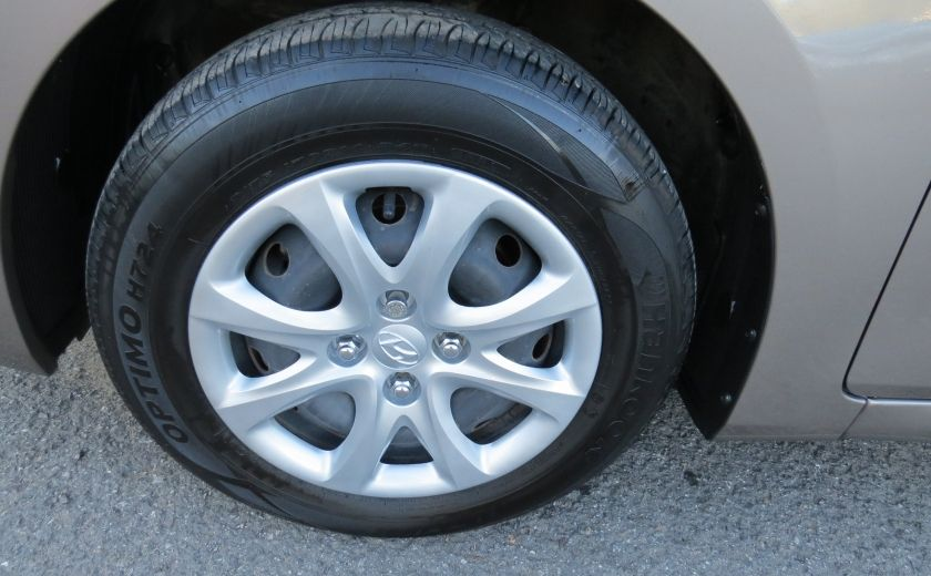 2013 Hyundai Accent L MAN ABS 4 PORTES 1.6 L #8
