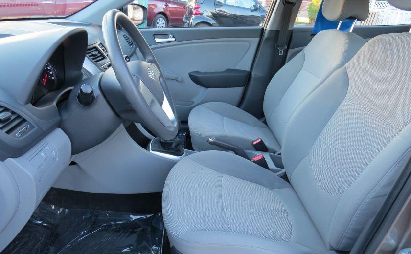 2013 Hyundai Accent L MAN ABS 4 PORTES 1.6 L #10
