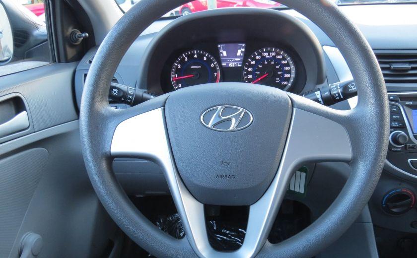 2013 Hyundai Accent L MAN ABS 4 PORTES 1.6 L #12