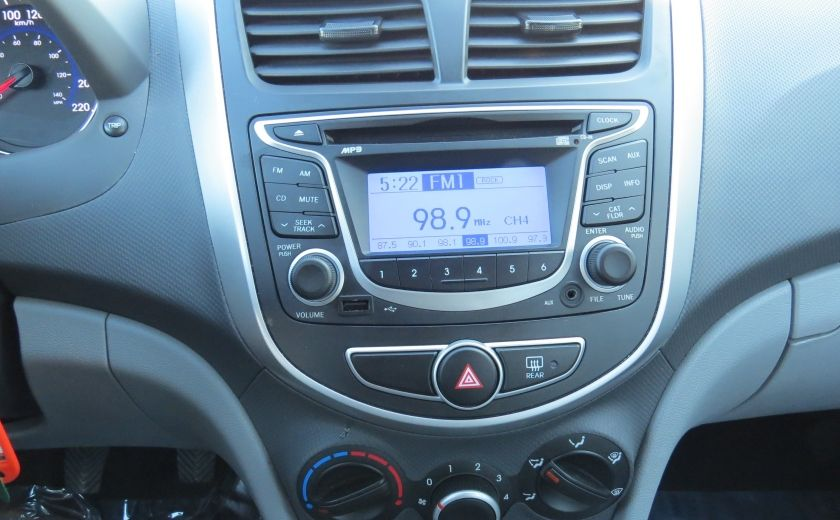 2013 Hyundai Accent L MAN ABS 4 PORTES 1.6 L #14