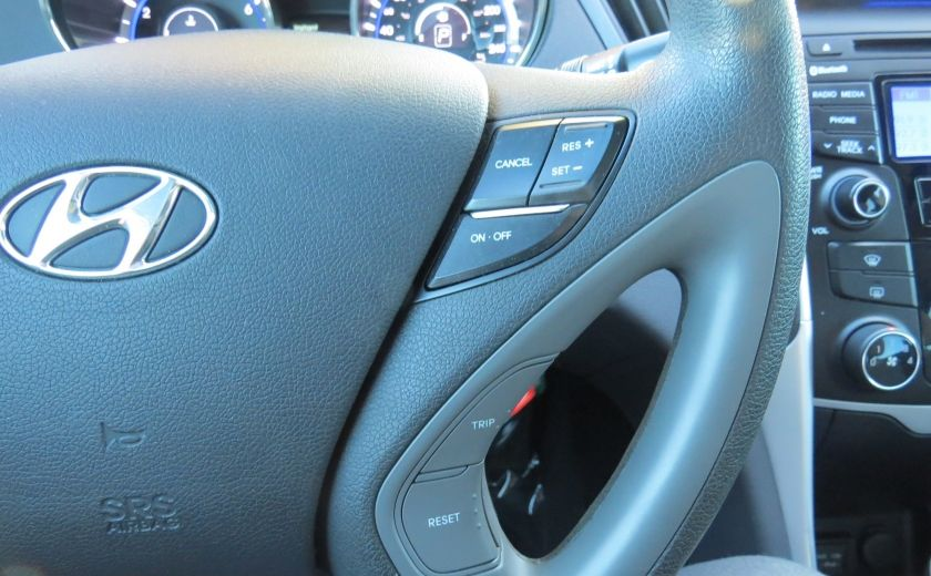 2012 Hyundai Sonata GLS AUT A/C MAGS TOIT GR ELECTRIQUE ET PLUS #11