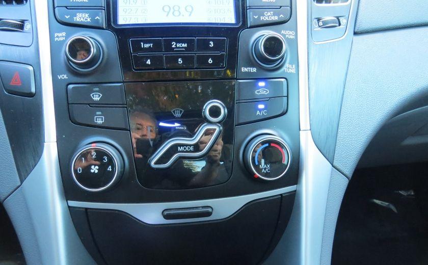 2012 Hyundai Sonata GLS AUT A/C MAGS TOIT GR ELECTRIQUE ET PLUS #17