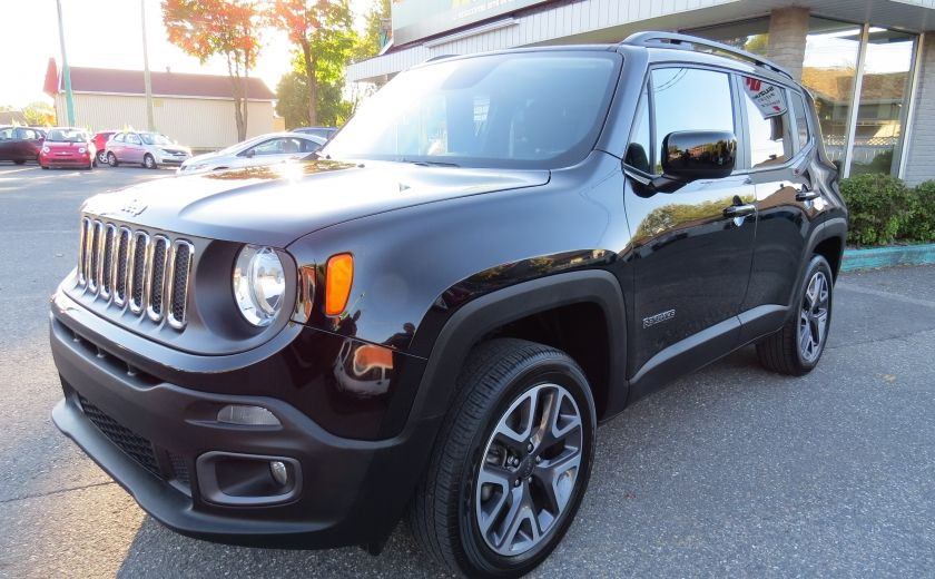 2016 Jeep Renegade North AUT 4X4 A/C MAGS GR ELECTRIQUE ET PLUS #2