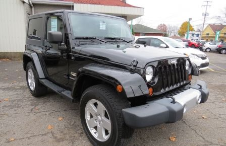 2010 Jeep Wrangler Sahara Aut 2 Toits 4x4 A/C MAGS GR ELECTRIQUE à New Richmond