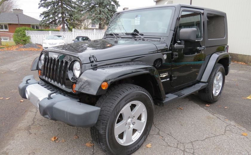 2010 Jeep Wrangler Sahara Aut 2 Toits 4x4 A/C MAGS GR ELECTRIQUE #2