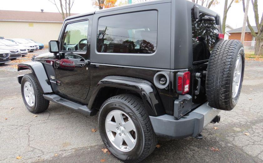 2010 Jeep Wrangler Sahara Aut 2 Toits 4x4 A/C MAGS GR ELECTRIQUE #4