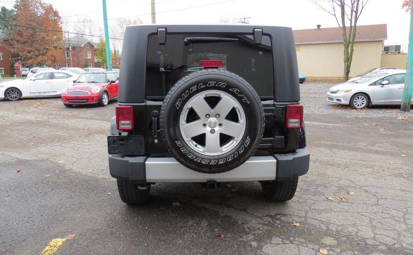 2010 Jeep Wrangler Sahara Aut 2 Toits 4x4 A/C MAGS GR ELECTRIQUE #5