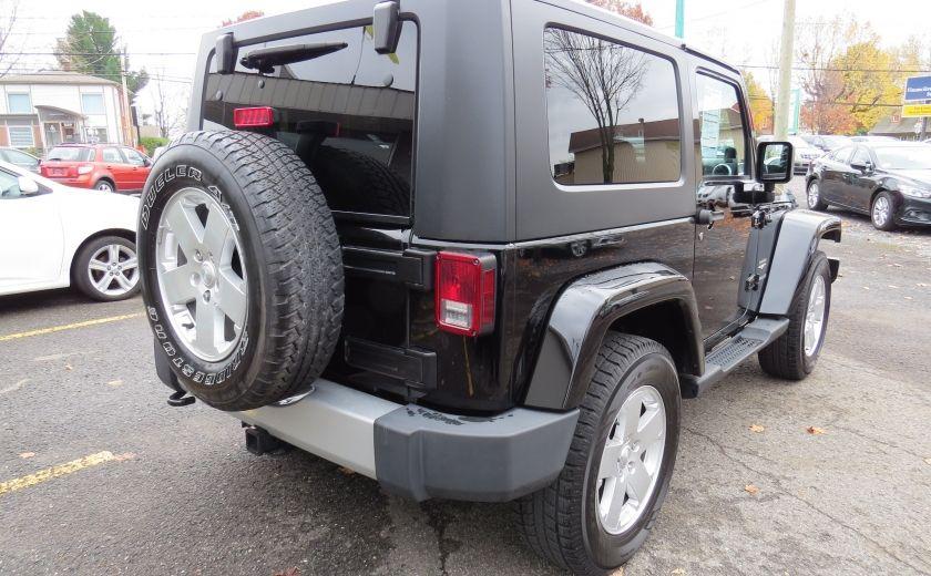 2010 Jeep Wrangler Sahara Aut 2 Toits 4x4 A/C MAGS GR ELECTRIQUE #6