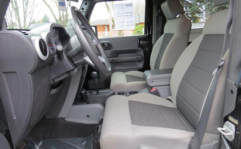 2010 Jeep Wrangler Sahara Aut 2 Toits 4x4 A/C MAGS GR ELECTRIQUE #13