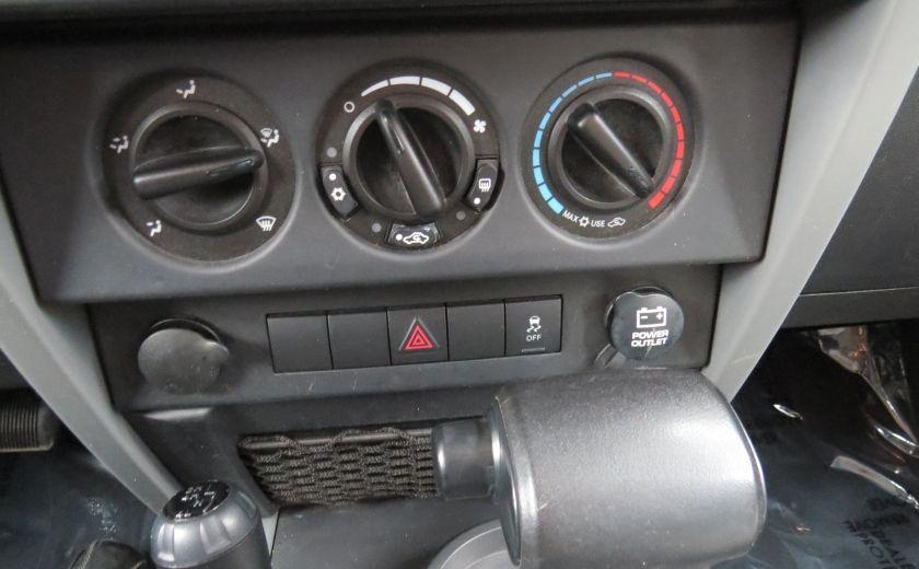 2010 Jeep Wrangler Sahara Aut 2 Toits 4x4 A/C MAGS GR ELECTRIQUE #17