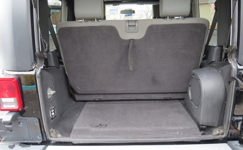 2010 Jeep Wrangler Sahara Aut 2 Toits 4x4 A/C MAGS GR ELECTRIQUE #20