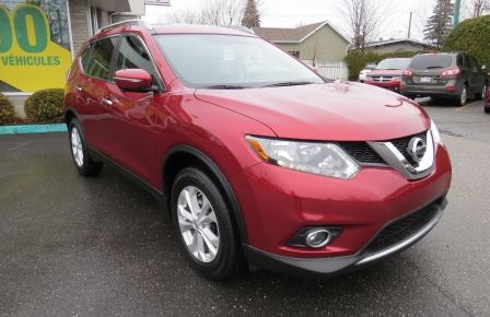 2014 Nissan Rogue SV AUT 7 PASS  CAMERA NAVI GR ELECTRIQUE ET PLUS in Drummondville