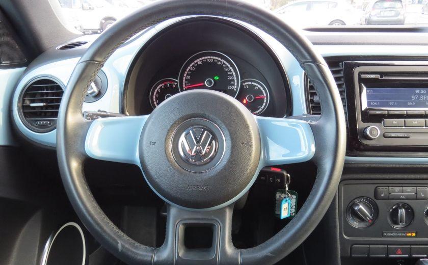 2014 Volkswagen BEETLE Highline AUT CUIR MAGS A/C CABRIOLET GR ELECTRIQUE #14