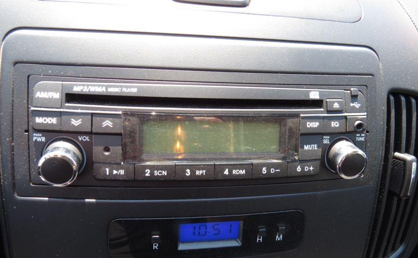 2009 Hyundai Elantra Touring GL AUT A/C ABS GR ELECTRIQUE #12