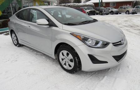 2015 Hyundai Elantra L MAN GR ELECTRIQUE ABS à Drummondville