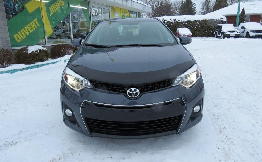 2014 Toyota Corolla S AUT A/C CUIR MAGS CAMERA TOIT GR ELECTRIQUE #1