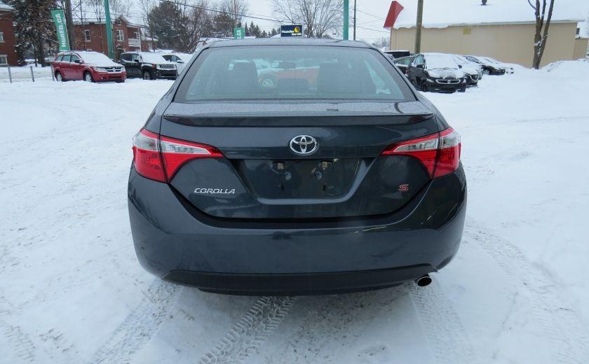 2014 Toyota Corolla S AUT A/C CUIR MAGS CAMERA TOIT GR ELECTRIQUE #5