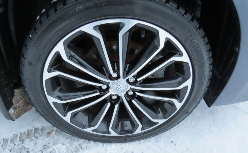 2014 Toyota Corolla S AUT A/C CUIR MAGS CAMERA TOIT GR ELECTRIQUE #8