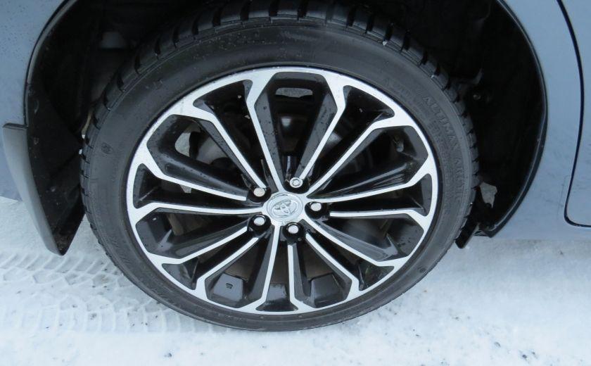 2014 Toyota Corolla S AUT A/C CUIR MAGS CAMERA TOIT GR ELECTRIQUE #9