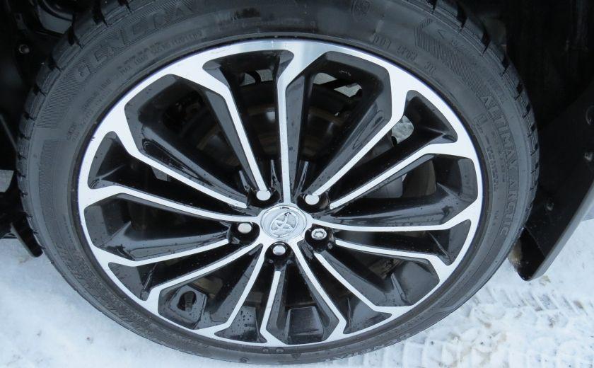 2014 Toyota Corolla S AUT A/C CUIR MAGS CAMERA TOIT GR ELECTRIQUE #10
