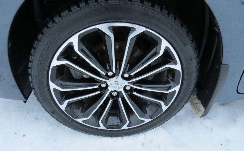 2014 Toyota Corolla S AUT A/C CUIR MAGS CAMERA TOIT GR ELECTRIQUE #11