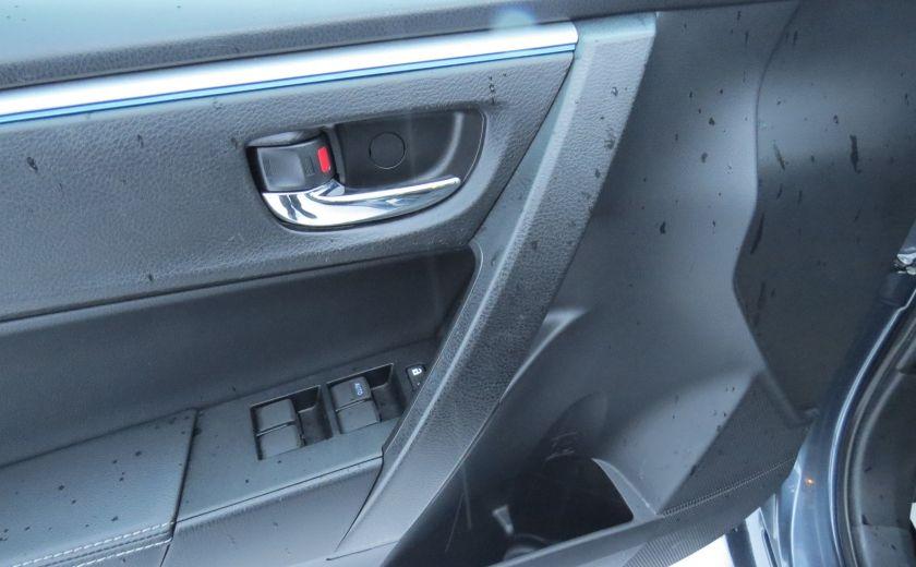 2014 Toyota Corolla S AUT A/C CUIR MAGS CAMERA TOIT GR ELECTRIQUE #12