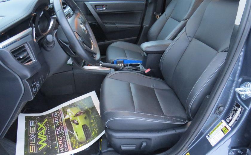 2014 Toyota Corolla S AUT A/C CUIR MAGS CAMERA TOIT GR ELECTRIQUE #13