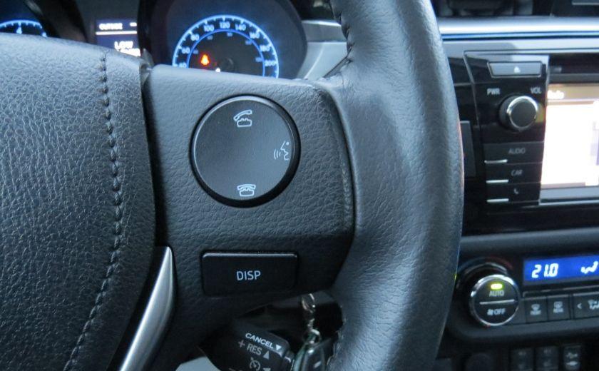 2014 Toyota Corolla S AUT A/C CUIR MAGS CAMERA TOIT GR ELECTRIQUE #15
