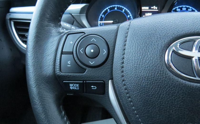2014 Toyota Corolla S AUT A/C CUIR MAGS CAMERA TOIT GR ELECTRIQUE #16