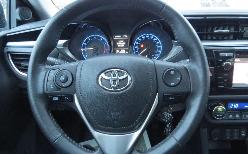 2014 Toyota Corolla S AUT A/C CUIR MAGS CAMERA TOIT GR ELECTRIQUE #17