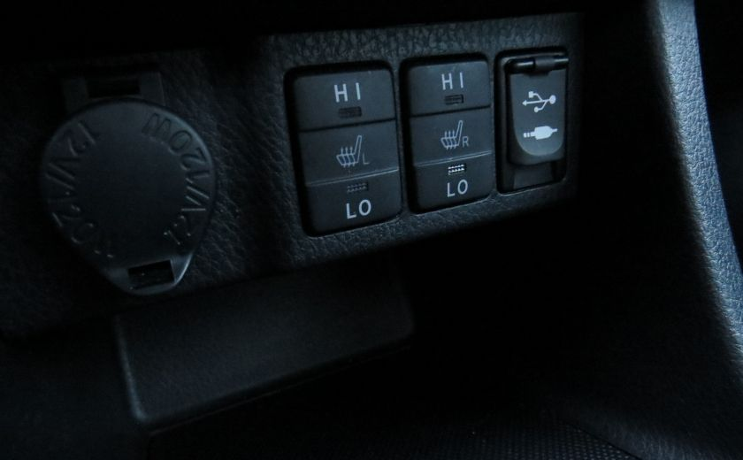 2014 Toyota Corolla S AUT A/C CUIR MAGS CAMERA TOIT GR ELECTRIQUE #23
