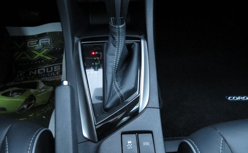2014 Toyota Corolla S AUT A/C CUIR MAGS CAMERA TOIT GR ELECTRIQUE #24