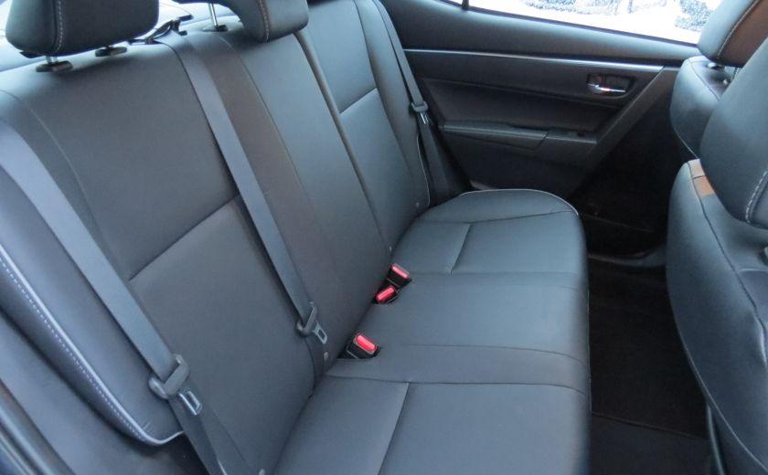 2014 Toyota Corolla S AUT A/C CUIR MAGS CAMERA TOIT GR ELECTRIQUE #27